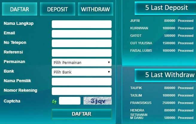 panduan withdraw sbobet dengan cepat